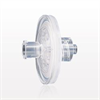 Hydrophilic Filter with Female Luer Lock Inlet, Male Luer Lock Outlet, Clear -- 28216 -Image