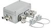 Passive Industrial Ethernet IP65 Junction Boxes / Connectors V5 - Metal Double Junction Box -- IE-OM-V05M-K21-2L