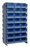 """Bins & Systems - Store-More 6"""" Shelf Bins (QSB Series) - Sloped Shelving Systems - Double Sided Pick Racks - QPRD-209 - Image"""