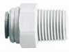 Male Pipe Adapters, 3/8 X 1/2, 10 Per Pack -- GO-34006-07