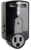 3 Outlet, Direct Plug-In Protect It! Surge Suppressor -- SK120USB
