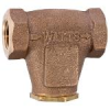Lead Free* Bronze, In-Line, V-Pattern Strainer -- LF27