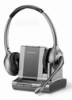 Plantronics WO350 Savi Office Over-the-head Binaural Noise-Canceling Wireless Office Headset for Unified Communications