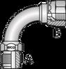S4 -JIC Male x JIC Female Swivel 90º Tube Bend -Image