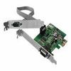 SIIG CyberSerial Dual PCIe-Dual Bracket - Serial adapter - P -- JJ-E10D11-S3