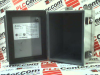 (PRICE/EA) N12 J BOX, HINGE COVER W/PANEL,8X6X6, STEEL, GRAY ENCLOSURE TYPE:JUNCTION BOX EXTERNAL HEIGHT - METRIC:203MM EXTERNAL WIDTH - METRIC:152 -- 1414PHG6 - Image
