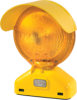 Monster™ Motion Safety Premium Barricade Lights - 3-Volt, Type B (one-sided visibility) -- BR3.B.D3