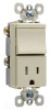 Combination Switch/Receptacle -- TM838-TRICC6 -- View Larger Image