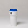 60 Liter Nestable Plastic Drum -- 7260 - Image