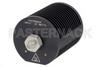 25 Watt RF Load Up To 18 GHz With SMA Female Input Round Body Black Anodized Aluminum Heatsink -- PE6204 -Image