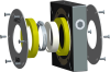 Mechanical Shaft Seal -- HC Series -- View Larger Image