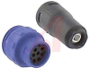 Cable Connector, In-Line; 12; Plug; 6.0to 6.5 mm; Flex In-Line Body; 1 A; 50 -- 70098890
