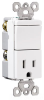 Combination Switch/Receptacle -- TM818-WCC -- View Larger Image