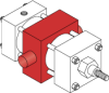 Series MN Aluminum Pneumatic Cylinder - Model MN73 NFPA Style MT4 -- Center Trunnion Mount