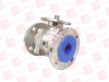 A-T CONTROLS INC D9-F1-0200-150 ( FLANGED BALL VALVE, SPLIT BODY, 2IN ) -- View Larger Image