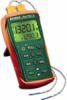 Easyview Type K Dual Input Thermometer -- EXEA15 -- View Larger Image