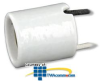 Leviton 4 KV Pulse Rated Medium Base Porcelain Lampholder.. -- 70045
