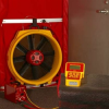 Q4E High Pressure Automated Blower Door -- REDFQ4E-HP
