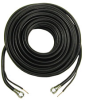 50' Weather-Resistant F Coaxial Cable w/ 18 AWG Messenger Ca -- 72-423