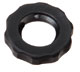 Panel mount lock nut, 1/4-28 UNF, black nylon, 25/pk -- EW-45509-04