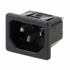 Power Entry Connectors - Inlets, Outlets, Modules -- EAC409040-ND