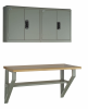 Wall-mounted Workbench W/ Wall Cabinet -- R5WH5-2010