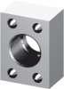 SAE Threaded Flanges - In-line BSPT -- 61 Series -Image