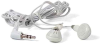 Earphone White 3.5mm Plug -- 2400-SF-07 -- View Larger Image
