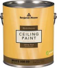 Interior Paint,Flat,1 gal,Elk Horn -- 6WRL9