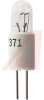Lamp; Incandescent, T-1 3/4 Bi-Pin, 12 V; 0.04 A; 10000 hrs; 0.12 MSCP; -- 70152611