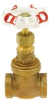 "RED-WHITE VALVE BRONZE GATE VALVE 2"" -- IBI203042"