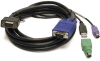 10ft Linkskey 3-in-1 USB PS/2 KVM Combo Cable -- KVM-SC10 - Image