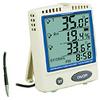 Digi-Sense Calibrated Digital Thermometer w/ Memory Card, SS probe -- GO-37803-85