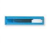 Roller Clamp, Blue Body with White Wheel, fits 3.1 mm ID/4.3 mm OD -- 14026