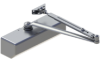 Grade 1 Heavy Duty Surface Door Closer -- 5300 Series