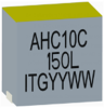 0.15uH, 15%, 0.185mOhm, 80Amp Max. SMD Power bead -- AHC10C-150L -Image