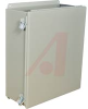 ENCLOSURE;NEMA 12;HINGED COVER;SCREW CLAMP;J BOX;16.00X14.00X6.00;STEEL;GRAY -- 70066817