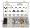 Air Cleaner Wing Nut Assortment,60 Pc -- 12T314 - Image