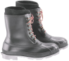 Onguard Wolf Pac 86396 Black/White 10 Waterproof & Rain Boots - 10 in Height - PVC Upper and PVC Sole - 791079-13713 -- 791079-13713