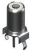 Phono Jack PC Mount -Vertical Entry Black -- 585 - Image
