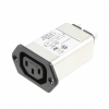 Power Entry Connectors - Inlets, Outlets, Modules -- 10EBF1-ND - Image