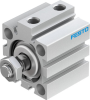 Short-stroke cylinder -- ADVC-32-15-A-P -Image