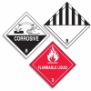 Hazardous Material Shipping Roll Labels -- SGN181
