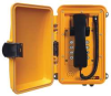 Weatherproof Telephone,Yellow -- 20W613