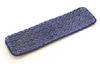 "Rubbermaid Q411 24"" Microfiber Wet Mopping Pad -- RM-Q411BLU"