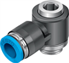 QSLV-G3/8-12-I Push-in L-fitting -- 186155 -Image