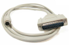 6ft MiniDin8 Male to DB25 Male 8C MAC Modem Cable -- MM10-06 - Image