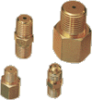 37° Flared Tube Connector -- A-44FTX-10-BR - Image