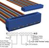 Rectangular Cable Assemblies -- C3PES-3436M-ND -Image