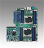 Dual LGA 2011-R3 Intel® Xeon® E5-2600 v3/v4 EATX Server Board with 16 x DDR4 DIMM, 3 PCIe x16, 6 USB 3.0, PME Support -- ASMB-913 -Image
